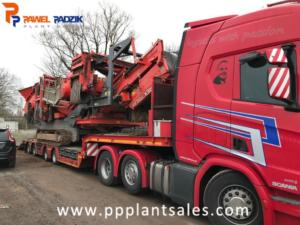 Transport Terex Finlay 883