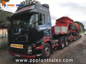 Transport Terex Finlay 683 by Panas Company.